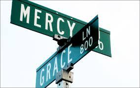 Mercy street sign